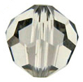 Swarovski Round 5000 Crystal Bead Black Diamond